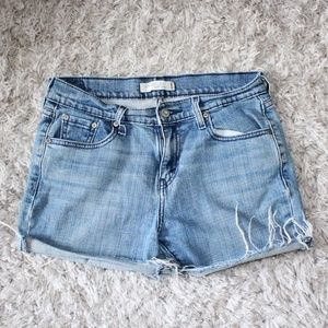 Levi's Shorts - Levi Cutoff Jean Shorts